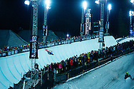 Yiwei Zhang during Snowboard Superpipe Eliminations at 2014 X Games Aspen at Buttermilk Mountain in Aspen, CO. ©Brett Wilhelm/ESPN