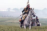 Battle of Waterloo 200th reenactment, Belgium (Saturday 20 June 2015). 2nd reenactment - the Allied counterattack.  © Rudolf Abraham