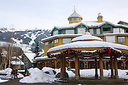 Whistler Village, host of the 2010 Vancouver Winter Olympics, Whistler, British Columbia, Canada.