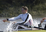 PUTNEY, LONDON, ENGLAND, 18.03.2006, Pre 2006 Boat Race Fixture, Cambridge UBC vs Leander BC.  over part of the Championship Course  from Putney to Mortlake.   © Peter Spurrier/Intersport-images.com.Peter Reed,[Mandatory Credit Peter Spurrier/ Intersport Images] Varsity Boat Race, Rowing Course: River Thames, Championship course, Putney to Mortlake 4.25 Miles