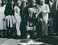 1985 Ted Knight's Walk of Fame ceremony