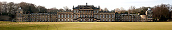East Front Wentworth Woodhouse, a Grade I listed country house near the village of Wentworth in South Yorkshire. The East Front is  606 ft (185 m) long and is the longest country house façade in Europe..The house includes 365 rooms and covers an area of over 2.5 acres (10,000 Sq meters)..29 January 2010.Images © Paul David Drabble