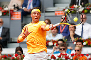 Rafael Nadal of Spain in action during the Mutua Madrid Open 2018, tennis match on May 9, 2018 played at Caja Magica in Madrid, Spain - Photo Oscar J Barroso / SpainProSportsImages / DPPI / ProSportsImages / DPPI