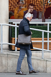 © Licensed to London News Pictures. 12/12/2018. London, UK. Former professional footballer David Ginola seen walking past the Royal Courts of Justice. Photo credit : Tom Nicholson/LNP