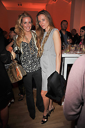 Left to right, ASSIA GRAZIOLI-VENIER and LAUREN MATIC at the TOD'S Art Plus Drama Party at the Whitechapel Gallery, London on 24th March 2011.