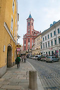 Cityscape of Passau, Bavaria, Germany