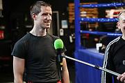 """Boxen: Boxen im Norden, Hamburg, 15.03.2021<br /> Alexander """"Alex"""" Pavlov im Interview<br /> © Torsten Helmke"""