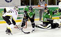 Ishockey , 06. desember 2007 , GET-ligan , Comet - Stavanger , Pål Grotnes Comet , Brendan Brooks Stavanger , Marius Odne Comet , Foto: Thomas Andersen , Digitalsport