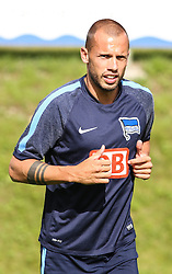 04.08.2014, Athletic Area, Schladming, AUT, Hertha BSC, im Bild John Heitinga (Hertha BSC, #5) // during a training session of the German Bundesliga Club Hertha BSC at the Athletic Area, Austria on 2014/08/04. EXPA Pictures © 2014, PhotoCredit: EXPA/ Martin Huber