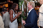 VENUS WILLIAMS; BORIS BECKER, The 2010 Ralph Lauren Wimbledon Party hosted by Elizabeth Saltzman in support of Too Many Women in celebration of the renewal of the Ralph Lauren Wimbledon partnership. Ralph Lauren shop. No.1 New Bond Street, London W1. 20 June 2010. <br />  <br /> -DO NOT ARCHIVE-© Copyright Photograph by Dafydd Jones. 248 Clapham Rd. London SW9 0PZ. Tel 0207 820 0771. www.dafjones.com.