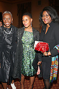l to r: Bethann Hardison, Leslie Parks, and Robyn Hickman at ' The Celebrating Fashion ' A Gala Benefit to support the Gordon Parks Foundation held at Gotham Hall on June 2, 2009 in New York City. ..The Gordon Parks Foundation-- created to preserve the work of groundbreaking African American Photographer and honor others who have dedicated their lives to the Arts--presents the Gordon Parks Award to four Artists who embody the principals Parks championed in his life.