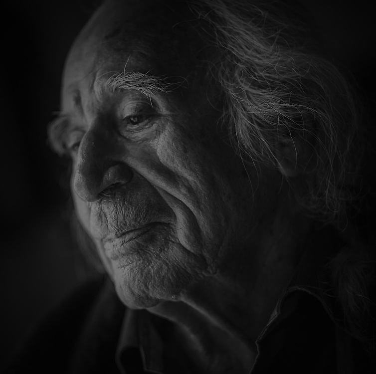 Wilmer Nadjiwon, 1921 - 2018, Ojibwa Nation, Cape Croker. Wilmer was an Elder that always worked hard for his people while maintaining a strong, independent spirit.
