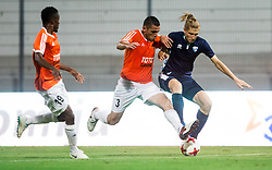 Artyom Mikaelyan of Shirak vs Leon Marinic of Gorica during 2nd Leg football match between ND Gorica and FC Shirak in 1st Qualifying Round of UEFA Europa League 2017/18, on July 6, 2017 in Nova Gorica, Slovenia. Photo by Vid Ponikvar / Sportida