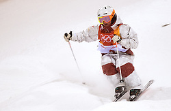 February 11, 2018 - Pyeongchang, South Korea - ANDY NAUDE of Canada in action during the Womens Moguls finals Sunday, February 11, 2018 at Phoenix Snow Park at the Pyeongchang Winter Olympic Games.  Photo by Mark Reis, ZUMA Press/The Gazette (Credit Image: © Mark Reis via ZUMA Wire)