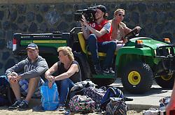 20150627 NED: WK Beachvolleybal day 2, Scheveningen<br /> Nederland heeft er sinds zaterdagmiddag een vermelding in het Guinness World Records bij. Op het zonnige strand van Scheveningen werd het officiële wereldrecord 'grootste beachvolleybaltoernooi ter wereld' verbroken. Maar liefst 2355 beachvolleyballers kwamen zaterdag tegelijkertijd in actie / Tanja Peree Nevobo