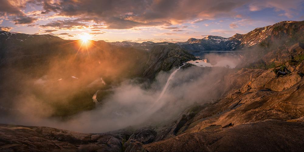 North-Norway. July 2020.