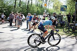 Sofia Bertizzolo (ITA) of Team Virtu Cycling rides during the Amstel Gold Race - Ladies Edition - a 126.8 km road race, between Maastricht and Valkenburg on April 21, 2019, in Limburg, Netherlands. (Photo by Balint Hamvas/Velofocus.com)