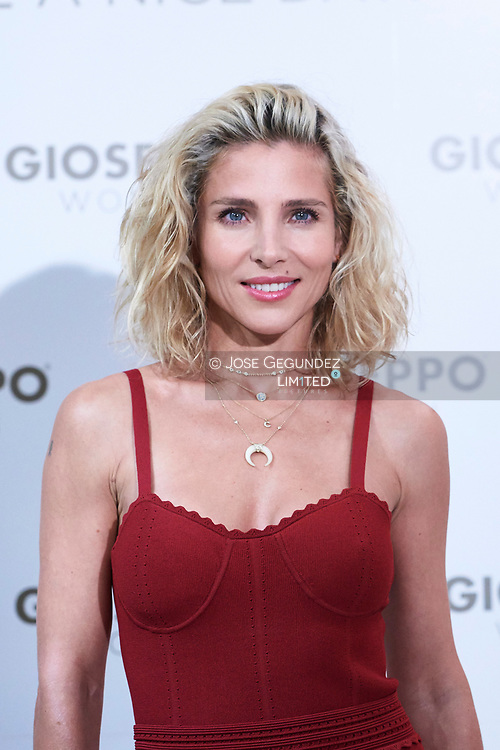 Elsa Pataky presents Spring/Summer Gioseppo Woman at Gioseppo Store on May 11, 2018 in Madrid, Spain