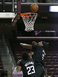 October 10, 2017 - Los Angeles, California, U.S - DeAndre Jordan #6 of the Los Angeles Clippers during their Free Open Practice for fans held on Tuesday October 10, 2017 at the Galen Center in USC in Los Angeles, California. (Credit Image: © Prensa Internacional via ZUMA Wire)