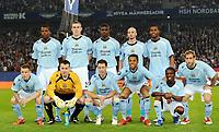 Fotball<br /> Tyskland<br /> Foto: Witters/Digitalsport<br /> NORWAY ONLY<br /> <br /> 09.04.2009<br /> <br /> Lagbilde Manchester City<br /> hinten v.l. Nedum Onuoha, Richard Dunne, Micah Richards, Stephen Ireland, Daniel Sturridge<br /> vorn v.l. Craig Bellamy, Torwart Shay Given, Wayne Bridge, Robinho, Shaun Wright-Phillips, Pablo Zabaleta<br /> <br /> UEFA-Cup Viertelfinale Hamburger SV - Manchester City