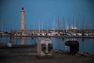 Francia, Sète: Il porto. France, Sète The port.