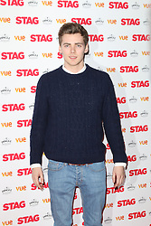 © Licensed to London News Pictures. 13/03/2014, UK. Thomas Law, The Stag - Gala Screening, Vue Cinema Leicester Square, London UK, 13 March 2014. Photo credit : Richard Goldschmidt/Piqtured/LNP