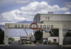 October 8, 2018 - Albuquerque, New Mexico, U.S. - In a major announcement held Monday afternoon at the Albuquerque Studios, Netflix buys ABQ Studios for a billion dollars. (Credit Image: © Roberto E. Rosales/Albuquerque Journal via ZUMA Wire)