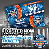 February 25, 2021 (MD): 2021 Central Intercollegiate Athletic Association Tournament (CIAA)