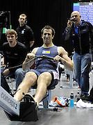 Birmingham, Great Britain, Men's Open Gold Medallist,  Graham BENTON Mad Team/David Lloyd, Reading, competing at the 2008 British Indoor Rowing Championships, National Indoor Arena. on  Sunday 26.10.2008 .   [Photo, Peter Spurrier/Intersport-images] ..