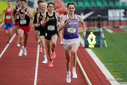 University of Oregon<br /> Oregon Relays track and field meet<br /> April 23-24, 2021 Eugene, Oregon, USA<br /> mens 1500, Portland