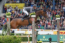 Schwizer Pius, (SUI), Caretina De Joter<br /> Rolex Grand Prix, The Grand Prix of Aachen<br /> Weltfest des Pferdesports Aachen 2015<br /> © Hippo Foto - Dirk Caremans<br /> 31/05/15