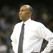 ORLANDO, FL - NOVEMBER 30: Head coach Johnny Dawkins of the UCF Knights watches from the bench during a NCAA basketball game against the Missouri Tigers at the CFE Arena on November 30, 2017 in Orlando, Florida. (Photo by Alex Menendez/Getty Images) *** Local Caption *** Johnny Dawkins