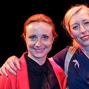 NLD/Amsterdam/20120911- Presentatie DVDbox 125 jaar Carre, Bianca Krijgsman en Plien van Bennekom