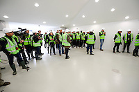 Visite du Chantier - 23.03.2015 - Visite du Stade de Bordeaux -<br /> Photo : Caroline Blumberg / Icon Sport *** Local Caption ***