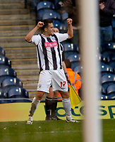 Photo: Leigh Quinnell.<br /> West Bromwich Albion v Burnley. Coca Cola Championship. 18/11/2006. West Broms Darren Carter celebrates his goal.