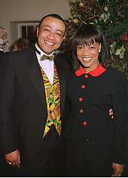 MR & MRS PAUL BOATENG he is the MP at a dinner in London on 30th November 1998.MMK 103