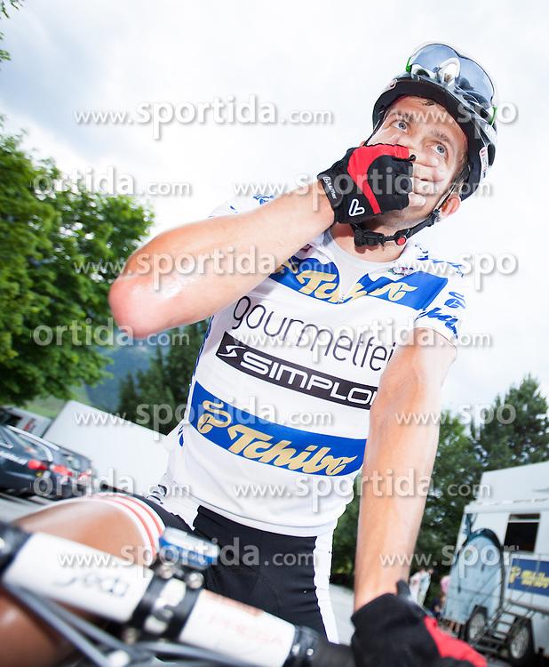 03.07.2013, Alpendorf, AUT, 65. Oesterreich Rundfahrt, 4. Etappe, Matrei in Osttirol - St. Johann/ Alpendorf, im Bild Riccardo Zoidl (AUT) // during the 65th Tour of Austria, Stage 4, from Matrei to St. Johann/ Alpendorf, Salzburg, Austria on 2013/07/03. EXPA Pictures © 2013, PhotoCredit: EXPA/ Juergen Feichter