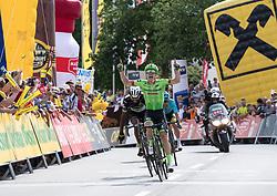 04.07.2017, Pöggstall, AUT, Ö-Tour, Österreich Radrundfahrt 2017, 2. Etappe von Wien nach Pöggstall (199,6km), im Bild Tom-Jelte Slagter (NED, Cannondale-Drapac Pro Cycling Team) Etappensieger // Tom-Jelte Slagter of Nederlands (Cannondale-Drapac Pro Cycling Team) during the 2nd stage from Vienna to Pöggstall (199,6km) of 2017 Tour of Austria. Pöggstall, Austria on 2017/07/04. EXPA Pictures © 2017, PhotoCredit: EXPA/ Reinhard Eisenbauer