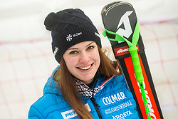 Andreja Slokar (SLO) during 2nd Run of Ladies' Giant Slalom at 57th Golden Fox event at Audi FIS Ski World Cup 2020/21, on January 17, 2021 in Podkoren, Kranjska Gora, Slovenia. Photo by Vid Ponikvar / Sportida