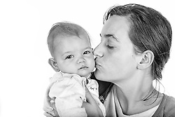 Mother and Baby Portrait Photoshoot