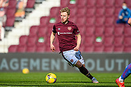 Gary Mackay-Steven (#17) of Heart of Midlothian FC during the SPFL Championship match between Heart of Midlothian and Inverness CT at Tynecastle Park, Edinburgh Scotland on 24 April 2021.
