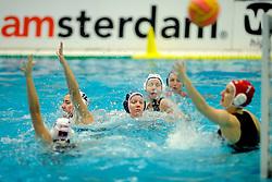 05-01-2008 WATERPOLO: EKT NEDERLAND - SERVIE: AMSTERDAM<br /> Servie werd met 29-4 overklast / Mieke Cabout<br /> ©2007-WWW.FOTOHOOGENDOORN.NL