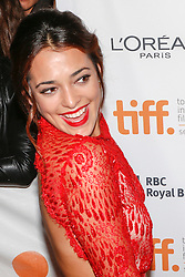 Actress NATALIE MARTINEZ attends the 'End Of Watch' Premiere during the 2012 Toronto International Film Festival at The Roy Thomson Hall, Saturday September 8th, 2012. Photo by David Tabor/i-Images.