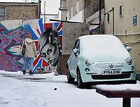Storm Darcy hits Margate, UK 9th feb 2021 photo by Krisztian Kobold Elek