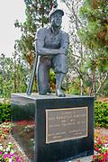 Jackie Robinson Statue, Jackie Robinson Stadium, UCLA, Los Angeles, California
