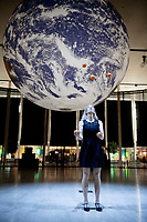 centre:mk unveils ground-breaking environmentally themed installations part of IF: Milton Keynes International Festival <br /> Gaia, Middleton Hall<br /> Measuring seven metres in diameter and featuring 120dpi detailed NASA imagery of the Earth's surface, Luke<br /> Jerram's stunning replica of the earth, Gaia, will make its debut at centre:mk in Middleton Hall. The<br /> monumental touring artwork can be seen alongside surround sound compositions by BAFTA and Ivor Novello<br /> award-winner Dan Jones, featuring voices including that of Sir David Attenborough. Jerram's 'Museum of the<br /> Moon' installation will also be displayed in the lush greenery of the Park's Trust Tree Cathedral at Newlands,<br /> making it the first time ever the two works have been exhibited in the same city in the UK.<br />  centre:mk, the headline sponsor, will showcase three remarkable installations,<br /> including the world premiere of Anna Berry's 'Breathing Room'<br /> Each installation pays tribute to life and the environment and is a nod to the<br /> centre's commitment to achieve net zero carbon emissions by 2035