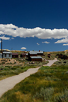 Bodie Ghost Town Gold Mine Panorama.Five of seven portrait images taken with a Nikon D3s camera and 50 mm f/1.4G lens (ISO 800, 50 mm, f/16, 1/200 sec). Raw images processed with DxO and the panorama created using AutoPano Giga Pro.