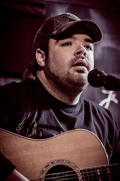 Jon Paiano performing before Liv Devine's Birthday Celebration performance at The Bus Stop Music Cafe in Pitman, NJ.