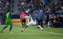 July 29, 2017 - Carson, CA, USA - Carson, CA - Saturday July 29, 2017: Ashley Cole during a Major League Soccer (MLS) game between the Los Angeles Galaxy and the Seattle Sounders FC at StubHub Center. (Credit Image: © Michael Janosz/ISIPhotos via ZUMA Wire)