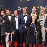 NLD/Amsterdam/20150601 - Premiere Rendez-vous, Mark van Eeuwen en familie